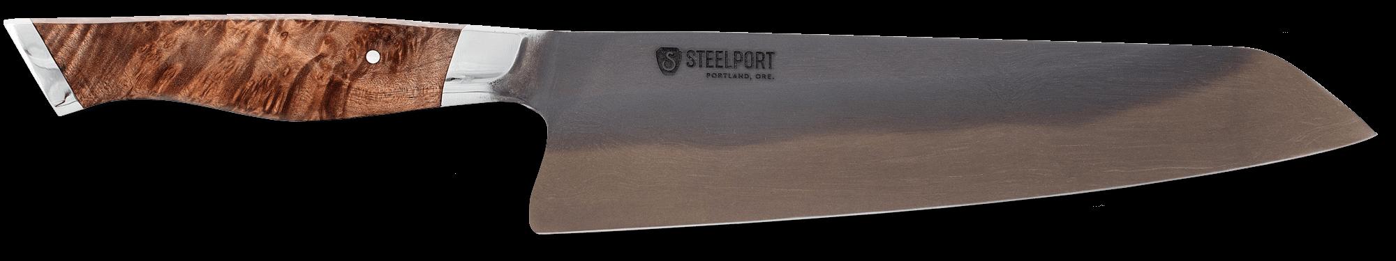 "STEELPORT Knife Co. 8"" Carbon Steel Chef Knife"